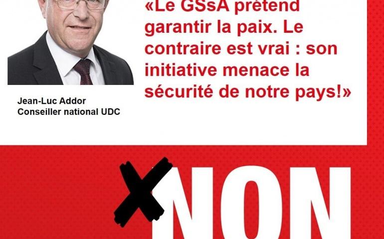 N'oubliez pas d'aller dire NON à l'initiative du GSsA !